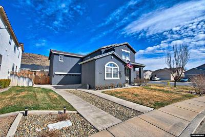 Sparks Single Family Home Active/Pending-Loan: 3840 Cloverbrook Dr