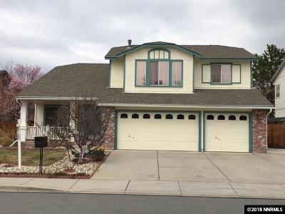 Sparks Single Family Home Active/Pending-Loan: 5245 Santa Anita