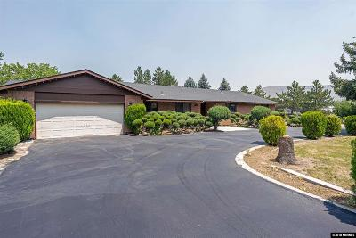 Carson City Single Family Home Active/Pending-House: 1520 Koontz Ln