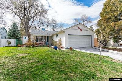 Reno Single Family Home Active/Pending-Loan: 997 Meadow Street