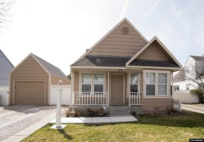Sparks Single Family Home Active/Pending-Loan: 2575 Garfield Drive
