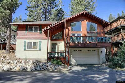 Incline Village Single Family Home For Sale: 1347 Zurich Ln