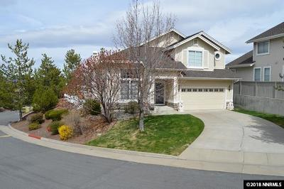 Reno Single Family Home For Sale: 6121 Carriage House Way