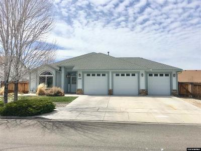 Gardnerville Single Family Home Active/Pending-Call: 1370 Macenna