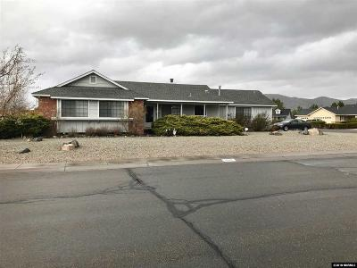 Minden Single Family Home Active/Pending-Loan: 1280 Downs Drive