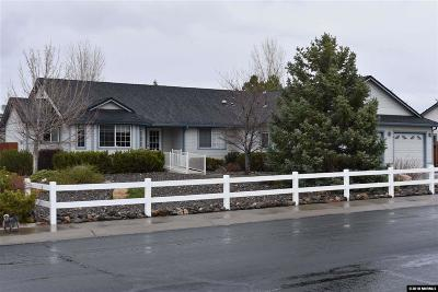 Gardnerville Single Family Home Active/Pending-House: 753 Mammoth