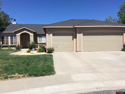 Carson City Single Family Home Price Reduced: 3570 Overlook Court