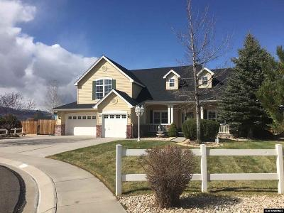 Minden Single Family Home Active/Pending-House: 1158 Casa Blanca Ct.