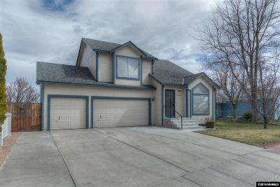 Sparks Single Family Home Active/Pending-Call: 7330 Lindsey Lane