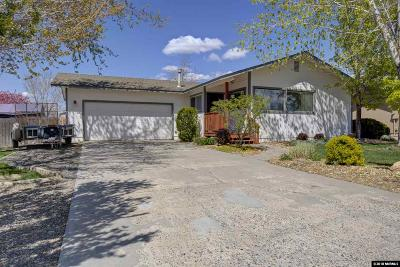 Gardnerville Single Family Home Back On Market: 1438 Bumblebee