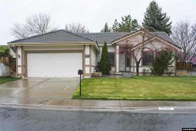 Sparks Single Family Home Active/Pending-House: 5245 Santa Lupe Ave