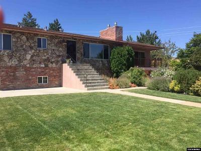 Reno Single Family Home For Sale: 2600 Newton Lane