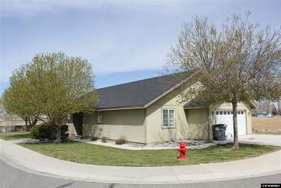 Yerington Single Family Home Active/Pending-Loan: 396 Sprague