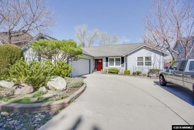 Reno Single Family Home Back On Market: 6351 Meadow Crest Circle