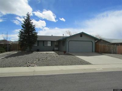 Gardnerville Single Family Home Active/Pending-Loan: 1369 Rancho Road