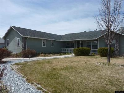 Carson City Single Family Home Active/Pending-Call: 242 Crystal Water Way