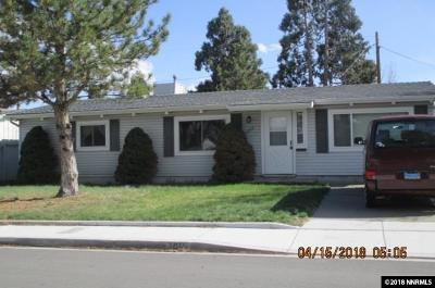 Sparks Single Family Home Active/Pending-Loan: 1011 Russell