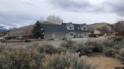 Carson City Single Family Home Active/Pending-House: 5420 Salk