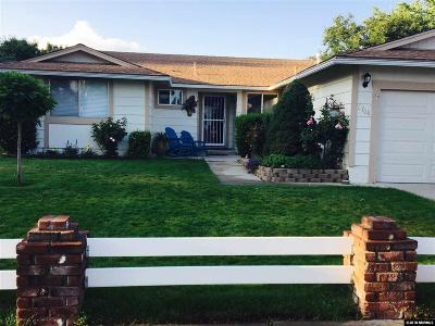 Sparks Single Family Home Active/Pending-Loan: 2708 Pinewood Drive