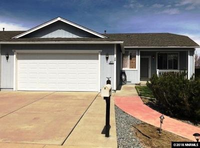 Reno Single Family Home Active/Pending-Loan: 8231 Big River