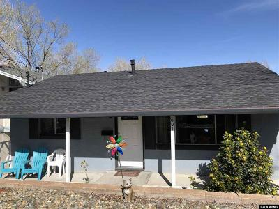 Carson City Single Family Home Active/Pending-Call: 601 Thompson St