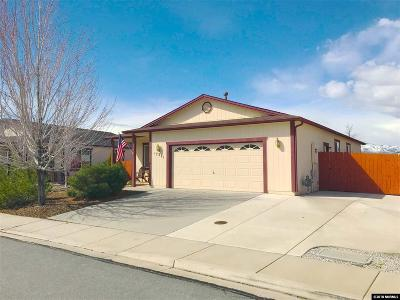 Reno Single Family Home Active/Pending-Loan: 17271 Desert Lake