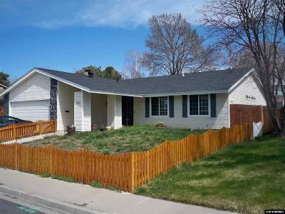 Sparks Single Family Home Active/Pending-Loan: 2930 Parkland