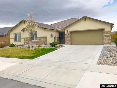Sparks Single Family Home For Sale: 7453 Star Vista