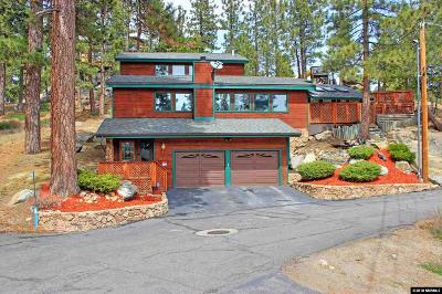 Zephyr Cove Single Family Home For Sale: 616 Mountain View Lane