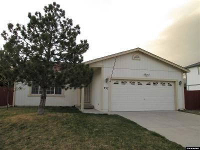 Reno Single Family Home Active/Pending-Loan: 727 Da Vinci Court