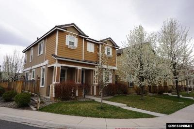 Sparks Single Family Home Active/Pending-House: 3873 Dominus