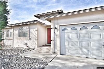 Fernley Single Family Home For Sale: 751 Divot Drive