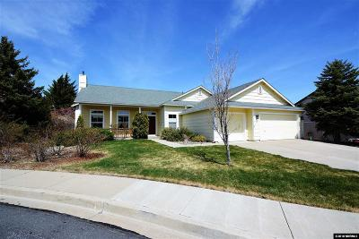 Reno, Sparks, Carson City, Gardnerville Single Family Home Active/Pending-Loan: 465 Snowmass Ct