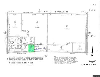 Battle Mountain Residential Lots & Land For Sale: 430 Yellow Brick Rd