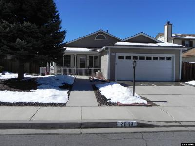 Carson City Single Family Home Active/Pending-Loan: 2848 Pinebrook Dr.