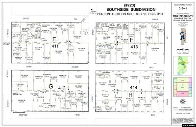 Reno Residential Lots & Land For Sale: 588 Capitol Hill Avenue