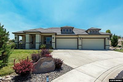 Reno Single Family Home For Sale: 600 Dancing Cloud Court
