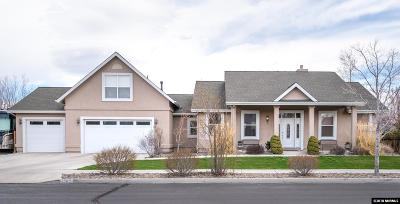 Minden Single Family Home For Sale: 1563 Deseret Drive