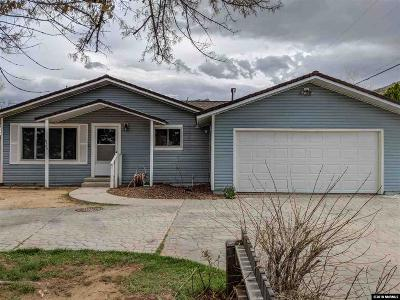 Reno Single Family Home Active/Pending-Loan: 8646 Aquifer