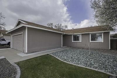 Carson City Single Family Home Active/Pending-Loan: 4162 Furnace Creek