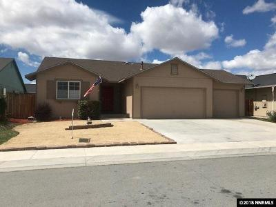 Fernley Single Family Home Active/Pending-Loan: 1520 Trubode