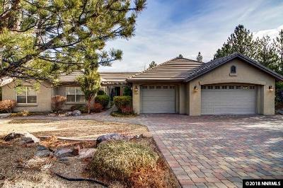 Reno Single Family Home Active/Pending-Loan: 4289 Cutting Horse