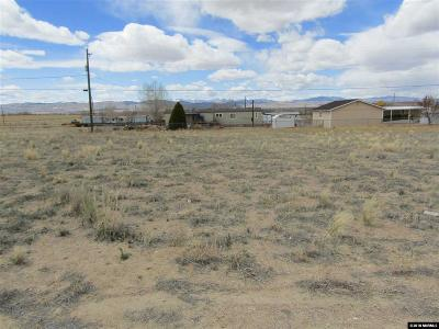 Yerington Residential Lots & Land For Sale: 52 Whiteface Ln.