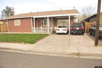 Reno Single Family Home For Sale: 1797 Hillboro