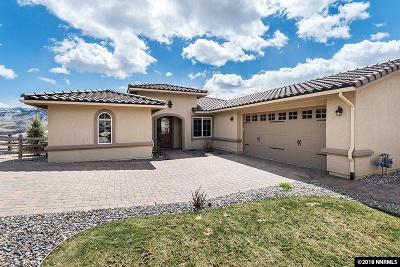 Reno Single Family Home Active/Pending-Loan: 1715 Fairway Hills
