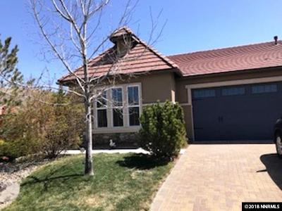 Reno Single Family Home Active/Pending-Loan: 2155 Peaceful Valley Drive