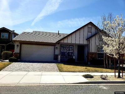 Sparks Single Family Home For Sale: 1074 Silver Coyote Drive