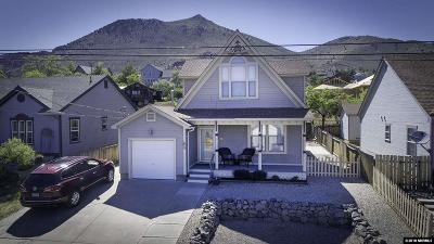 Virginia City Single Family Home For Sale: 130 S Q Street