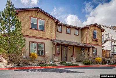 Reno Single Family Home For Sale: 2145 Heavenly View Trail #Lot 58