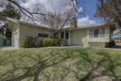 Reno Single Family Home Active/Pending-Call: 2355 Ives Ave